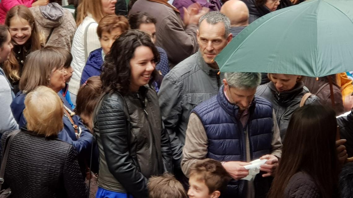 Un éxito de público en el día de la inauguración